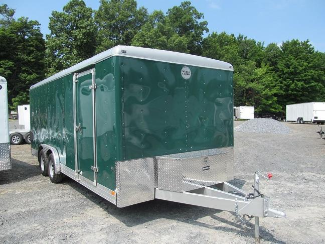 2016 Wells Cargo 8 X 20 Heavy Duty LS w/ Complete Interior Setup