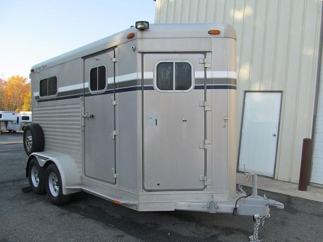 1996 4-Star 2H BP w/ DR Horse Trailer