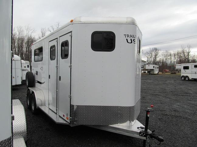 2017 Trailers USA Patriot 2HBP w/ DR