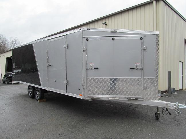 Stealth 4 Place Enclosed 22 Plus 5 Snowmobile Trailer