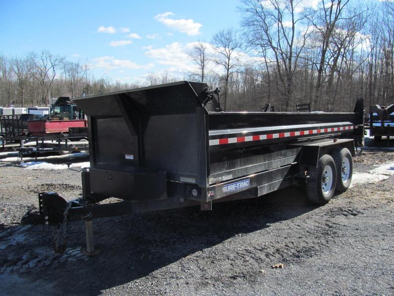 2015 Sure-Trac 7 X 16 14K Dump Trailer