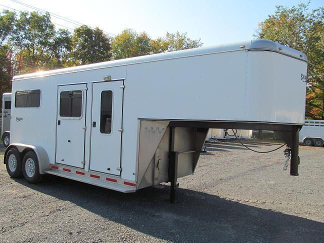 2007 Shadow Trailers Gooseneck Farrier Cargo / Enclosed Trailer