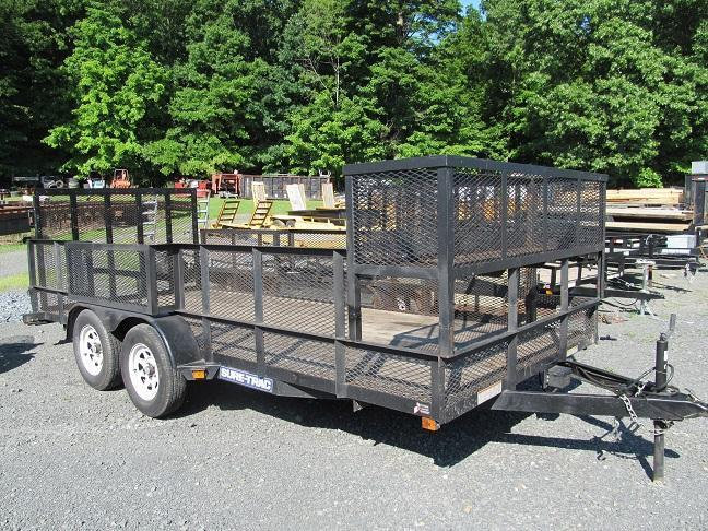 2014 Sure-Trac Open LS Trailer w/ Racks