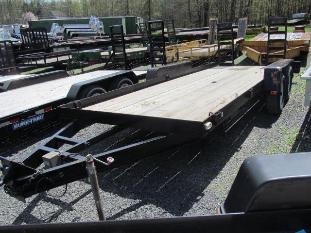 2006 Cross Country Manufacturing 7x18 10K Equipment Trailer