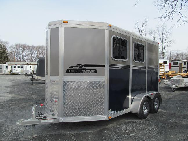 Eclipse Aluminum Trailers 2 Horse Slant Load Extended (2H SL EXT) Horse Trailer