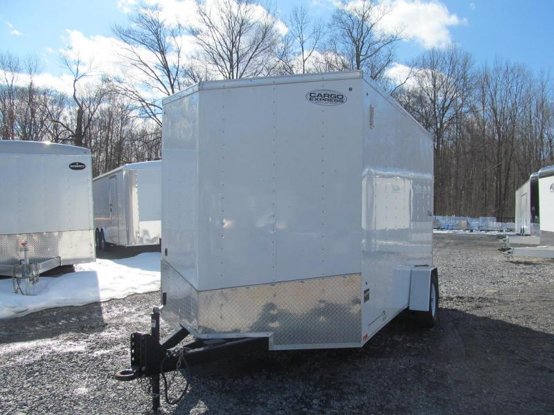 2018 Cargo Express 7 x 12 Single Axle Enclosed Cargo Trailer