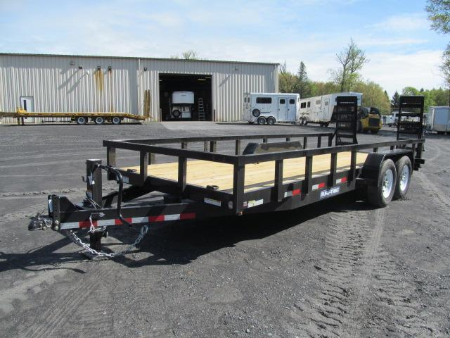 2019 Sure-Trac 7 X 20 8 Ton HD Implement Equipment Trailer