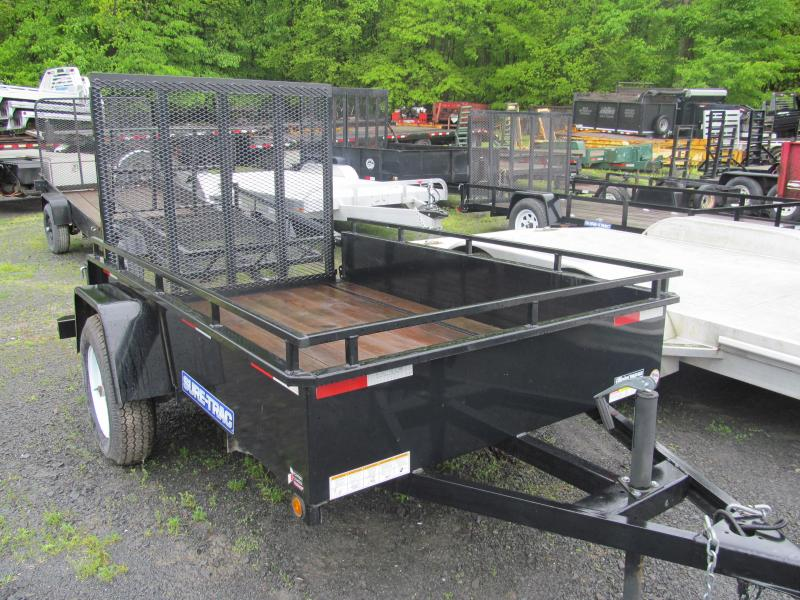 2014 Sure-Trac 5 X 8 Steel Sides Utility Trailer