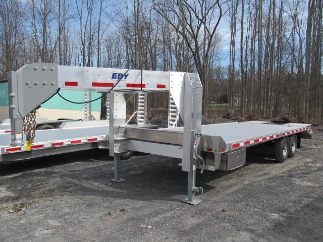 2019 Eby 15900 GVW Flatbed GN Equipment Trailer