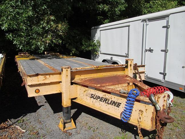 2003 Superline 20 Ton Equipment Trailer