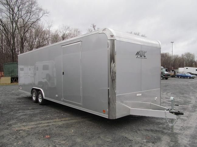 2016 Aluminum Trailer Company 8.5 x 28 CH Plus w/ Premium Escape Door