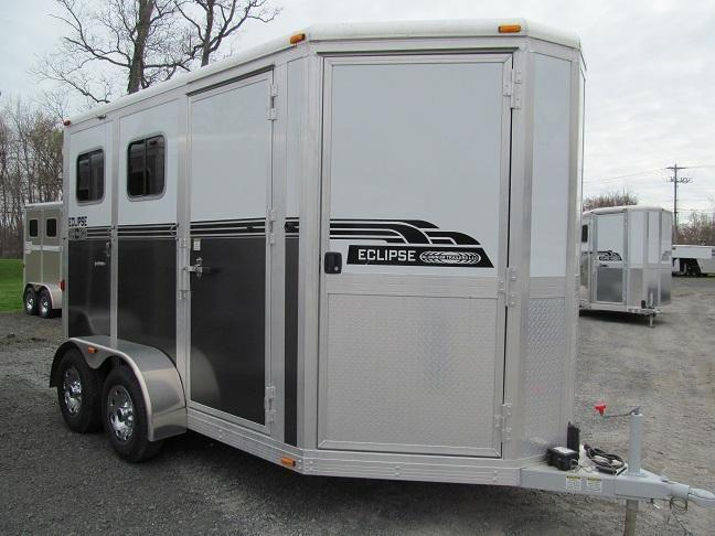 2014 Eclipse 2 Horse Straight Load w/ Dressing Room (2H-ST-DR)