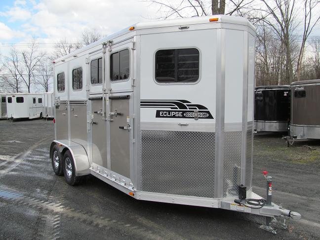 2013 Eclipse 2H ST SR Horse Trailer