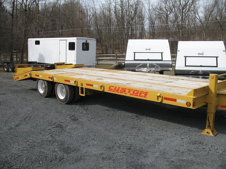 Heavy Equipment Trailer : Custom heavy haul ton equipment trailers horse stock