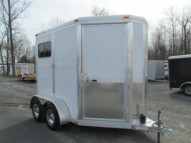 Eclipse Aluminum Trailers 2H ST SS Horse Trailer