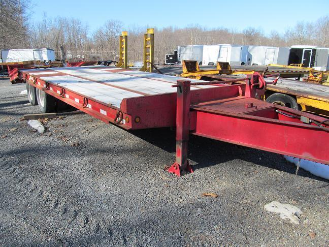 2008 Winston 12 Ton Equipment Trailer