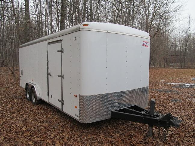 2010 American Hauler 8 x 20 10K Enclosed