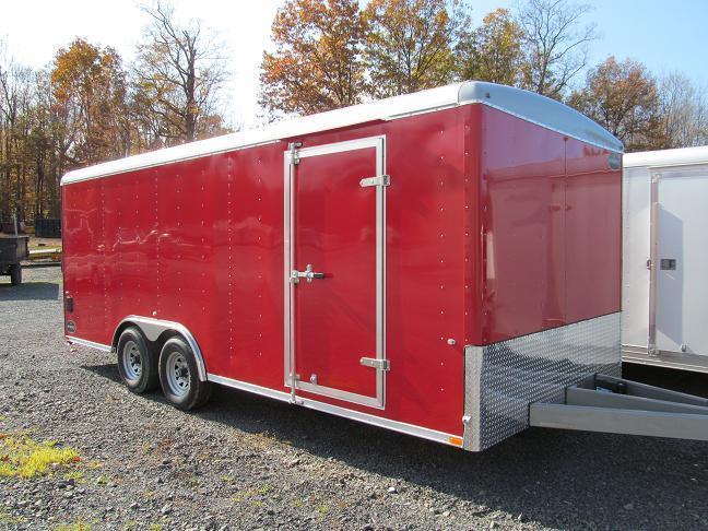 Integrity Trailers Enclosed Landscape Cargo Enclosed