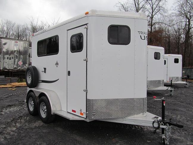 2016 Trailers USA Patriot 2 Horse BP