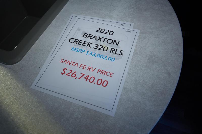 2020 Braxton Creek 320 RLS Travel Trailer RV