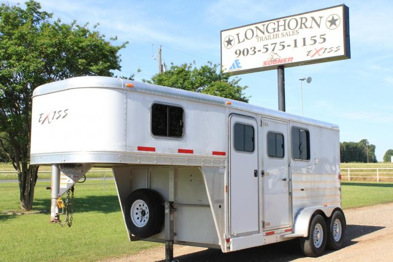 2013 Exiss 2 Horse Gn w/ Rear Tack