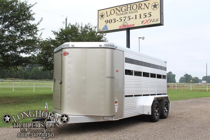 2015 Sundowner 16ft 6 Pen Low Pro with Tack Room