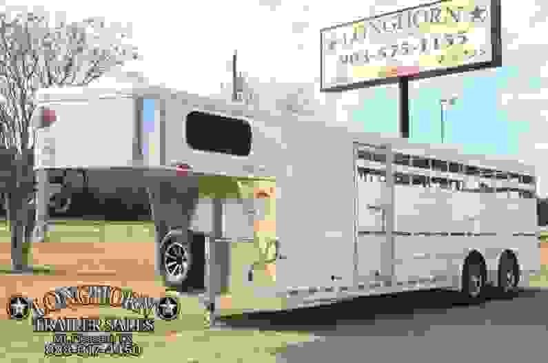 2018 Sundowner 24 Show cattle Combo / Side ramp
