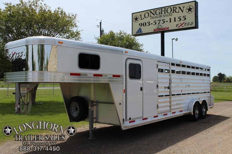 2018 Exiss 24ft Show Cattle with Side Ramp