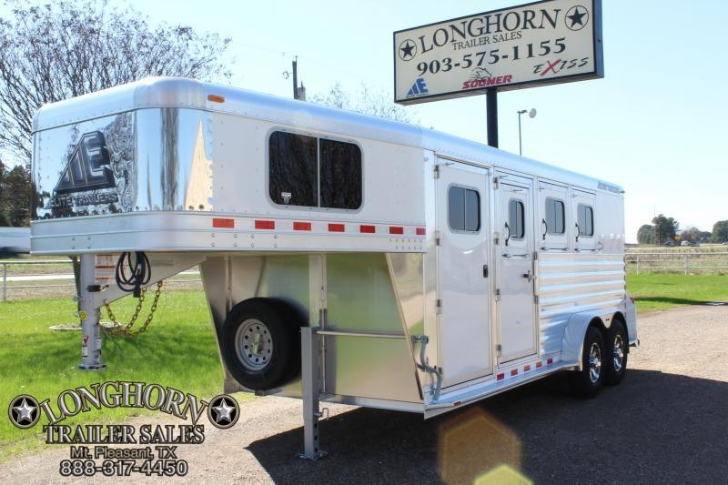 2019 Elite 3 Horse with 4ft Tack Room and Drop Windows