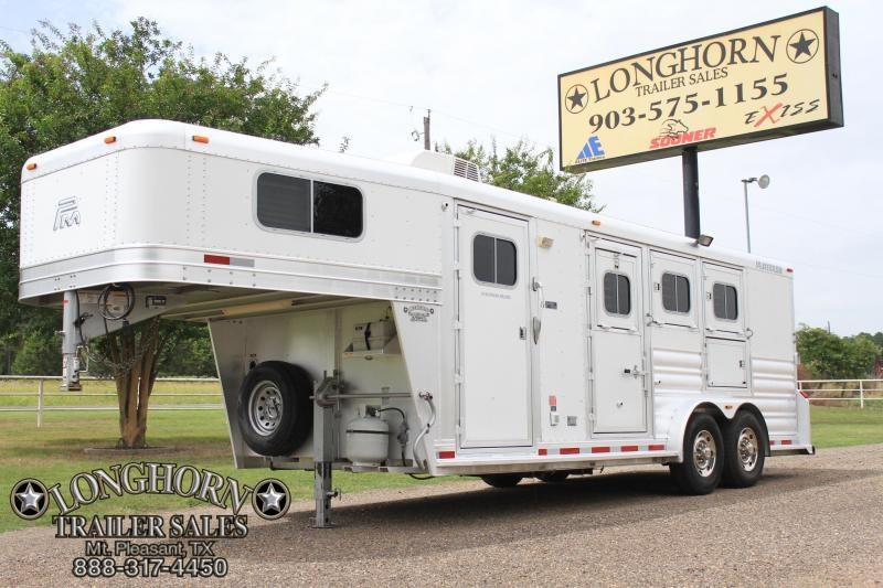 2014 Platinum 3 Horse 6ft LQ with Mangers