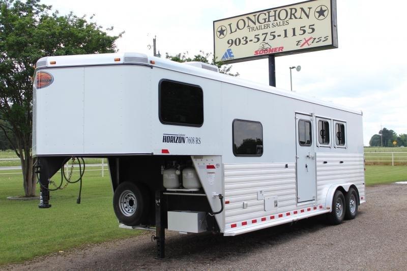 2012 Sundowner 3 Horse 8ft Shortwall Horizon