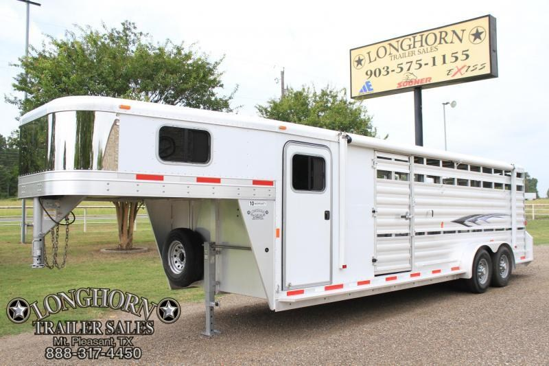 2014 Exiss 24 ft Combo / 6 ft Tack / Side Ramp in Stock
