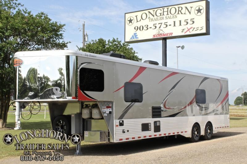 2019 Sundowner 13ft Living Quarter with 16ft Garage Toy Hauler