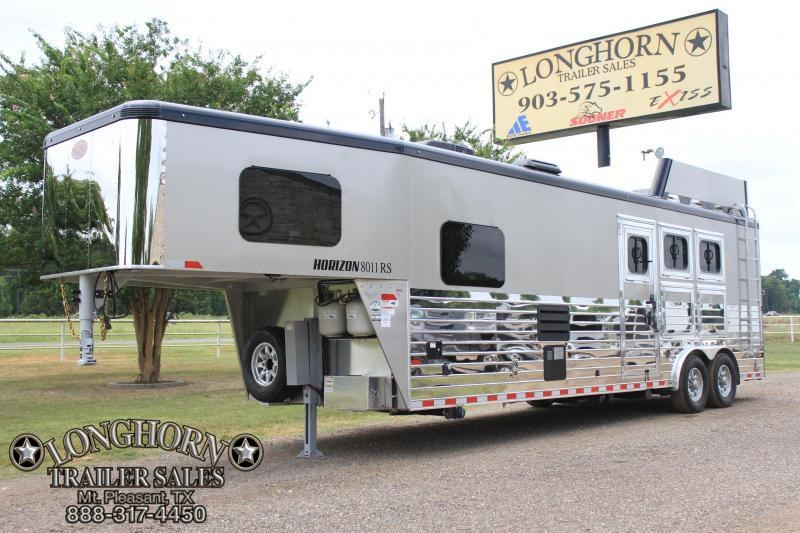 2019 Sundowner 3 Horse with 11ft Shortwall - LOADED