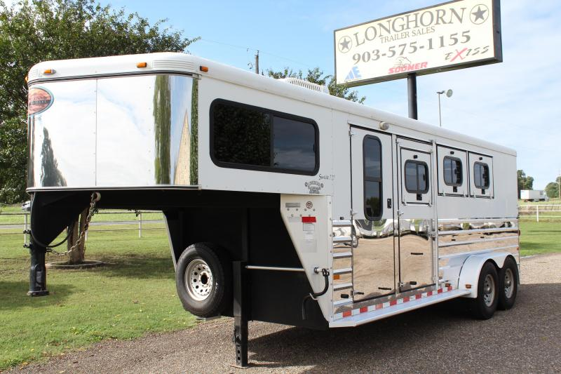 2006 Sundowner 3 Horse with 4ft Tack Room and A.C.