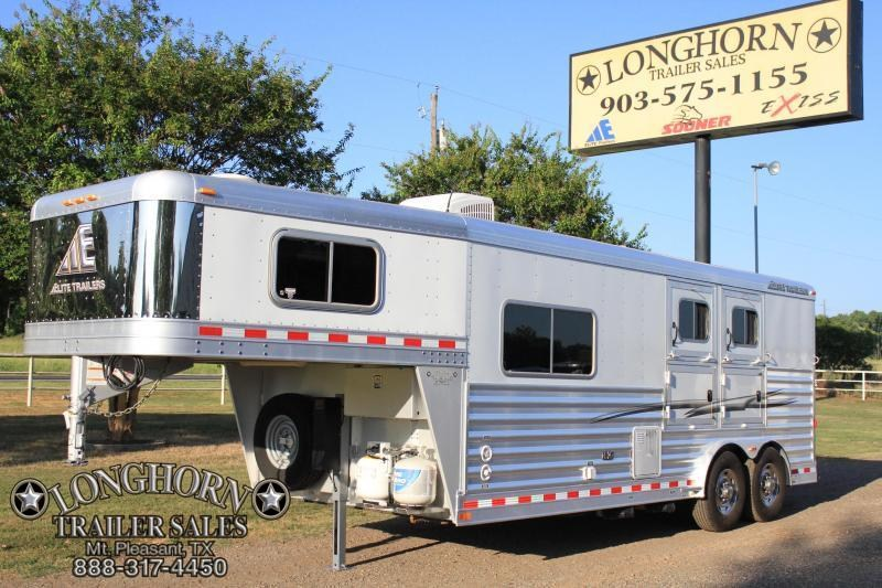2014 Elite Trailers 2 Horse 8.8 Ft Lq / 8 Wide