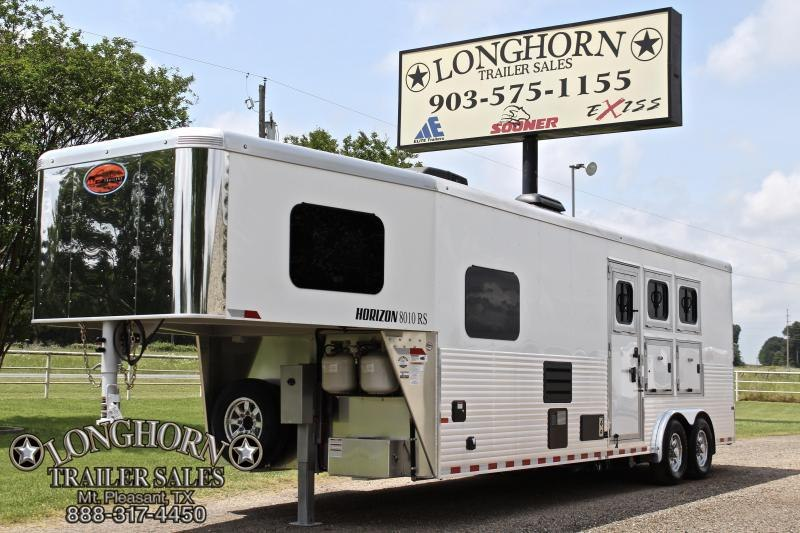 2019 Sundowner 3 Horse with 10ft Shortwall - LOADED