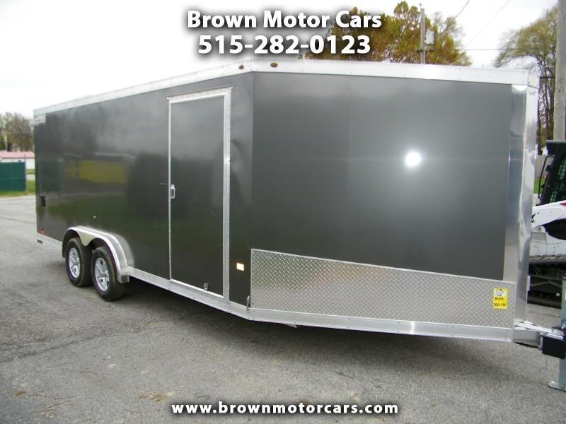 2019 Haulmark HAS 7.5x24 Aluminum Enclosed Snowmobile Trailer