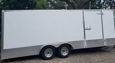 2007 ASPT TL Enclosed Cargo Trailer