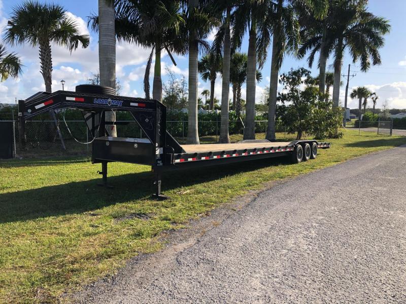 2016 Load Max 8' x 40' Gooseneck Equipment Trailer