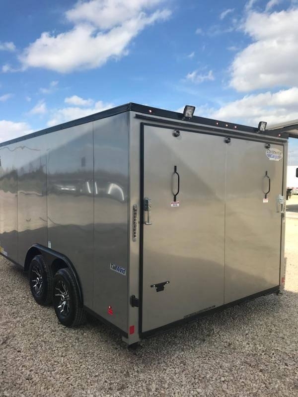 2017 Continental Trailers 8.5 x 14 Enclosed Cargo Trailer