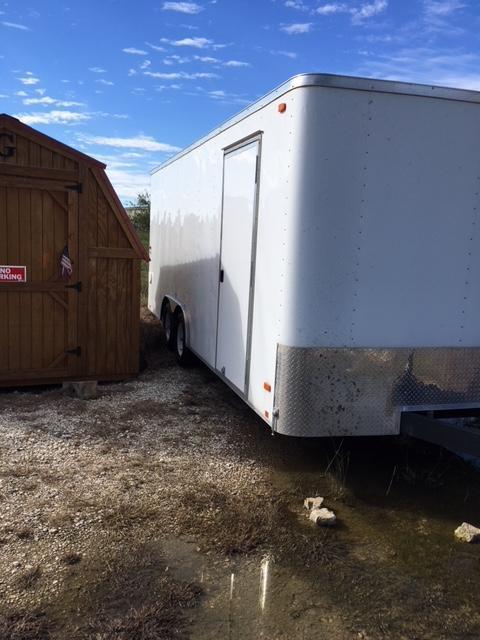 2014 Wells Cargo Enclosed Cargo Trailer