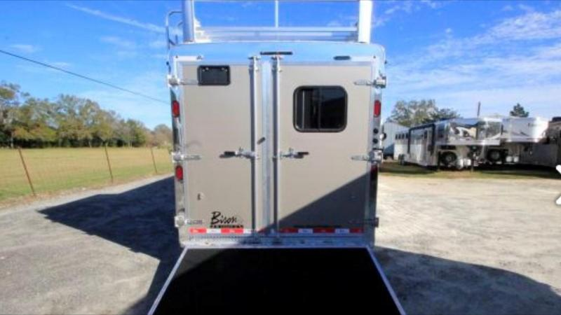 2016 Bison Trailers Ranger Horse Trailer