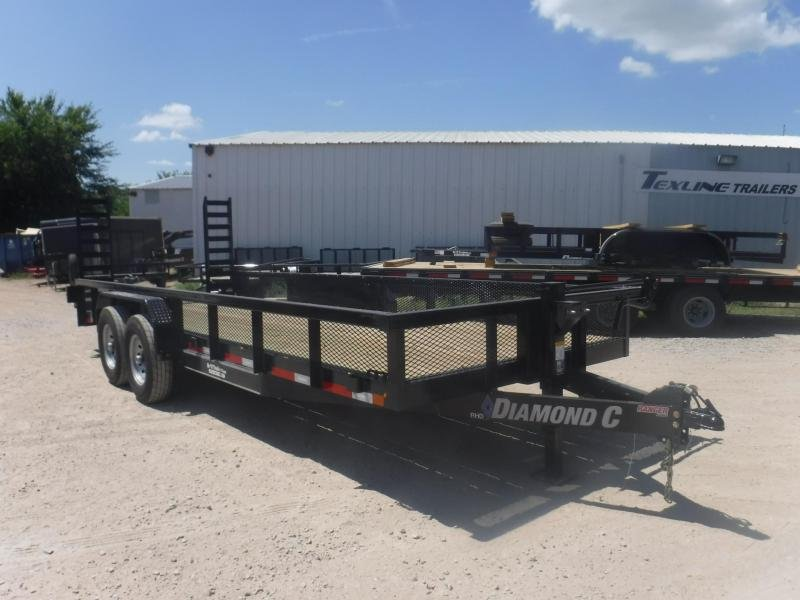 2018 Diamond C Trailers 82 x 20 RHD20 Equipment Trailer