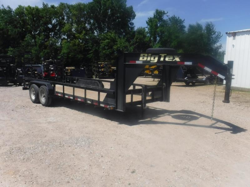 2016 Big Tex Trailers 82 x 20 Gooseneck Utility Trailer