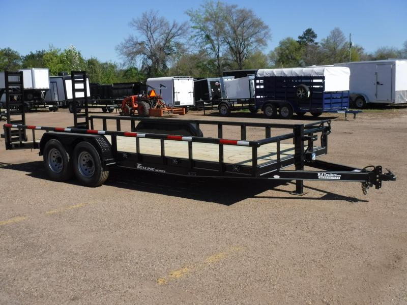 2019 TexLine 83 x 20 Bobcat Pipe Top Equipment Trailer