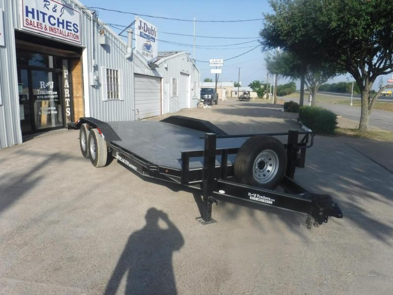 2018 TexLine 102 x 20 Bobcat Equipment Trailer