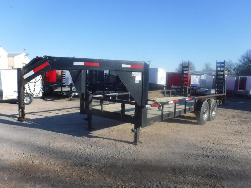 2014 Other 82 x 20 Gooseneck Equipment Trailer
