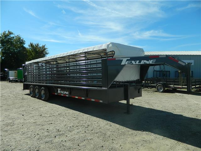 2017 TexLine 28 Cattle Utility Trailer