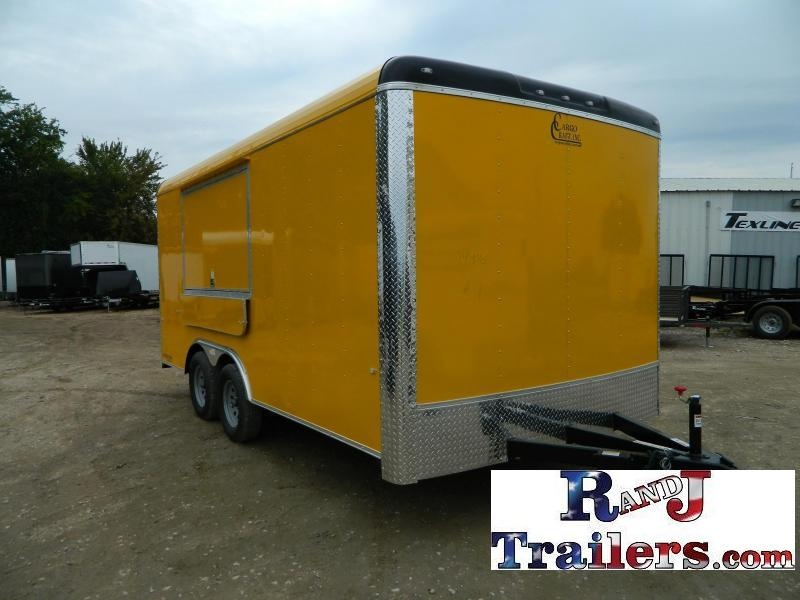 2018 Cargo Craft 8.5 x 16 Expedition Vending / Concession Trailer